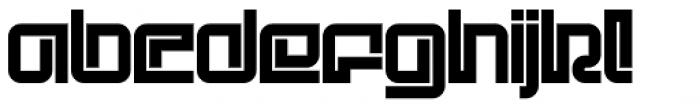 Children Bold Font LOWERCASE