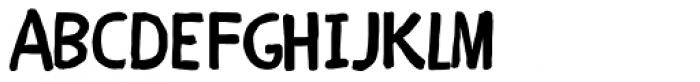 Children One Font UPPERCASE
