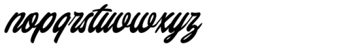 Chillout Regular Font LOWERCASE