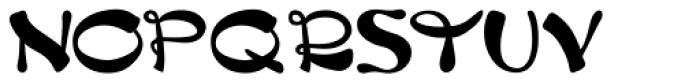 China Dragon JNL Font UPPERCASE
