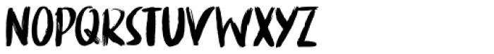 China Syndrome Regular Font LOWERCASE