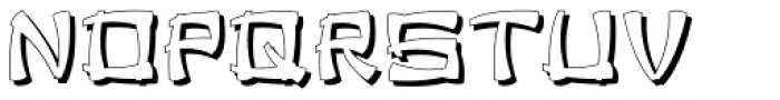 Chinese Herbs JNL Font LOWERCASE