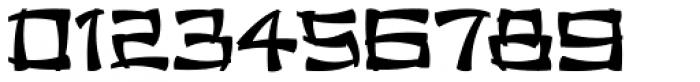 Chinese Menu JNL Font OTHER CHARS