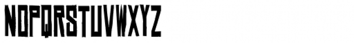 Chinese Rocks Cnd Bold Font UPPERCASE
