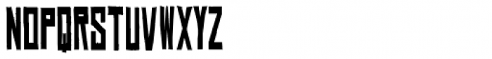 Chinese Rocks Cnd Bold Font LOWERCASE