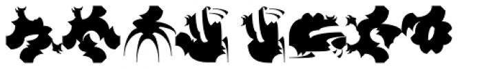 Chineze Dragon 1 Font UPPERCASE
