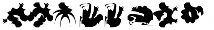 Chineze Dragon 1 Font LOWERCASE