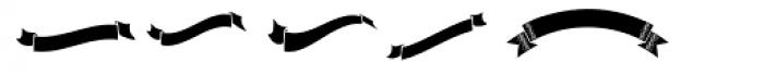 Chino Tattoo Dingbats Font UPPERCASE