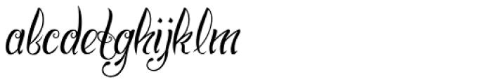 Chino Tattoo Thin Font LOWERCASE