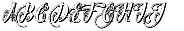Chino Tattoo White Font UPPERCASE