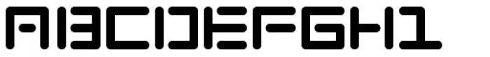 Chip 1 Font UPPERCASE