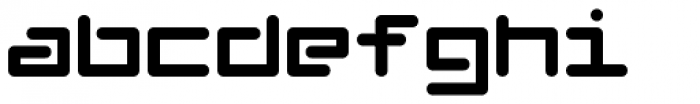 Chip 1 Font LOWERCASE