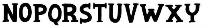Chip Dip Regular Font UPPERCASE