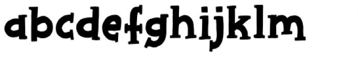 Chip Dip Regular Font LOWERCASE