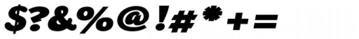 Chipa Black Italic Font OTHER CHARS