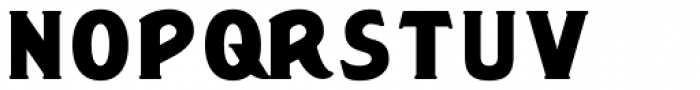Chipping Bold Font UPPERCASE