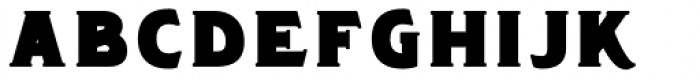 Chipping Bold Font LOWERCASE