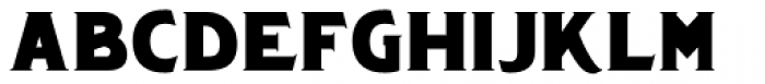 Chipping Font LOWERCASE