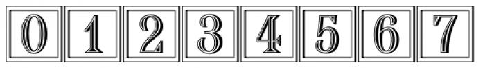 Chisel Initials D Font OTHER CHARS
