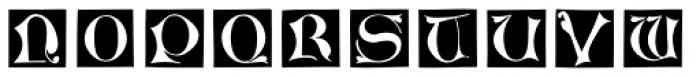 Chiswick Illuminated Caps Font UPPERCASE