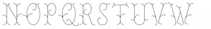 Chivels Inner Font UPPERCASE