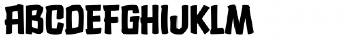 Choc Chip Font UPPERCASE