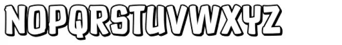 Choc Dip Font UPPERCASE