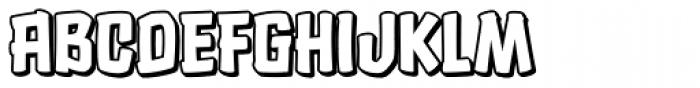 Choc Dip Font LOWERCASE