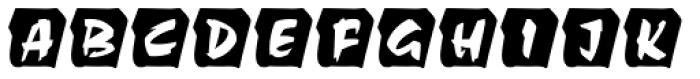 Choc Initials D Font UPPERCASE