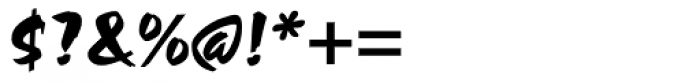 Choc Regular Font OTHER CHARS