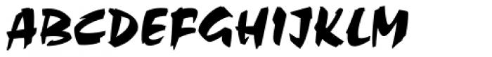 Choc Std Font UPPERCASE
