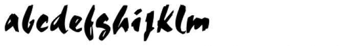 Choc Std Font LOWERCASE