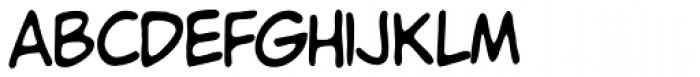 Chockablock Font LOWERCASE