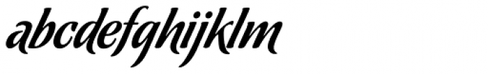 Chocolate Caliente Font LOWERCASE
