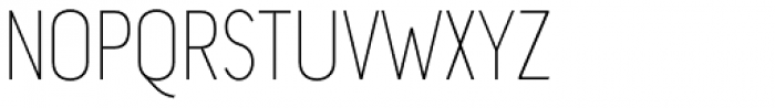 Chogolisa Thin Font UPPERCASE