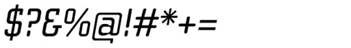 Cholla Slab Oblique Font OTHER CHARS
