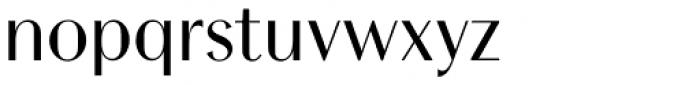 Chong Modern Std Regular Font LOWERCASE