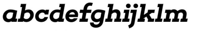 Choplin Semi Bold Italic Font LOWERCASE