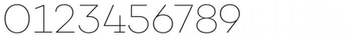 Choplin Thin Font OTHER CHARS