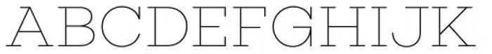 Choplin Thin Font UPPERCASE