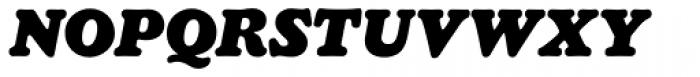 Chopped Black Italic Font UPPERCASE