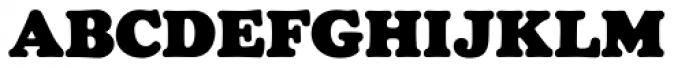 Chopped Black Font UPPERCASE