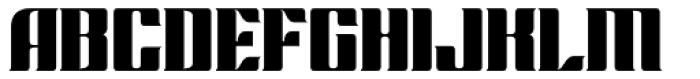 Chopper Biform Font UPPERCASE