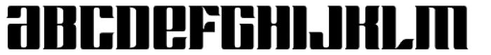 Chopper Biform Font LOWERCASE