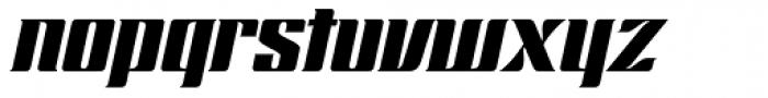Chopper Italic Font LOWERCASE