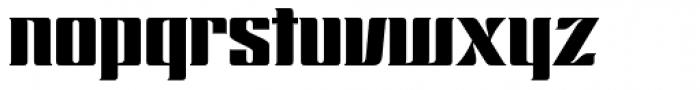 Chopper Font LOWERCASE