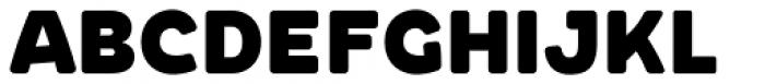 Chopsee Softee Black Font UPPERCASE