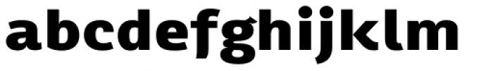 Chorus Expd ExtraBold Font LOWERCASE