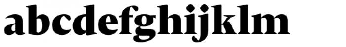Christel Display Black Font LOWERCASE
