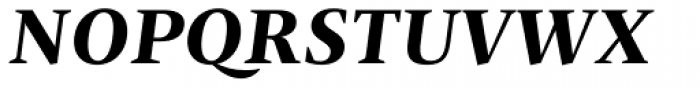 Christel Display Bold Italic Font UPPERCASE